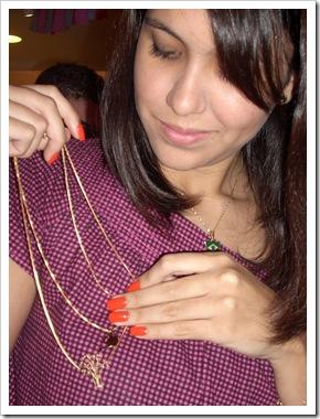 Lays Tavares do blog utilidade feminina com o mimo da Paula Velloso